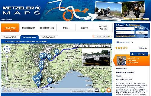 Metzeler Maps