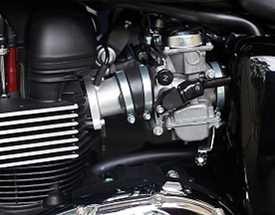 Motorradvergaser