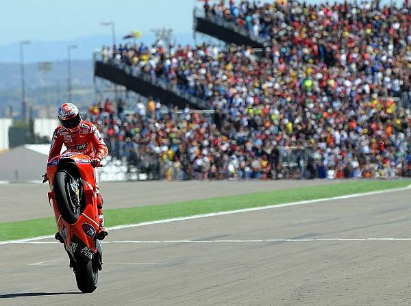 © Ducati - MotoGP 2011: Die große Wheelie-Show startet in Katar und endet in Valencia