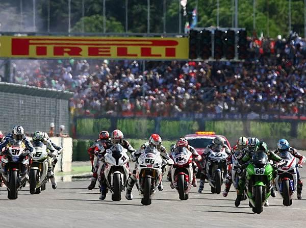 © Kawasaki - Grün mal stark: Tom Sykes konnte sich in beiden Rennen in Führung setzen