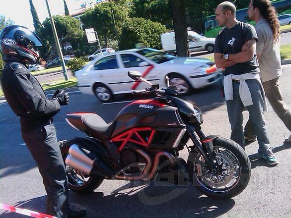 Ducati Diavel via MCN