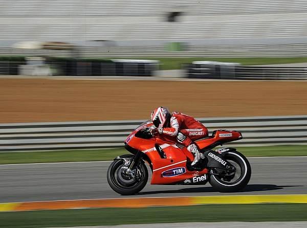 © Ducati - Nicky Hayden trieb die Entwicklung für 2011 in Valencia auch am Mittwoch voran