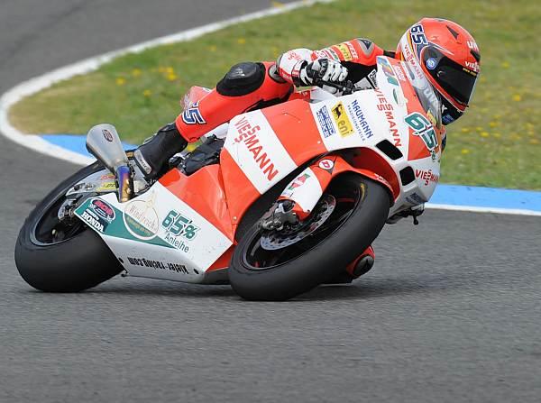 © motorradrennen.com - Der Deutsche Stefan Bradl verpasste die Pole-Position in Valencia nur knapp