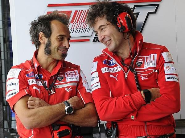 © Ducati - Vittoriano Guareschi (l.) blickt dem kommenen Jahr zuversichtlich entgegen
