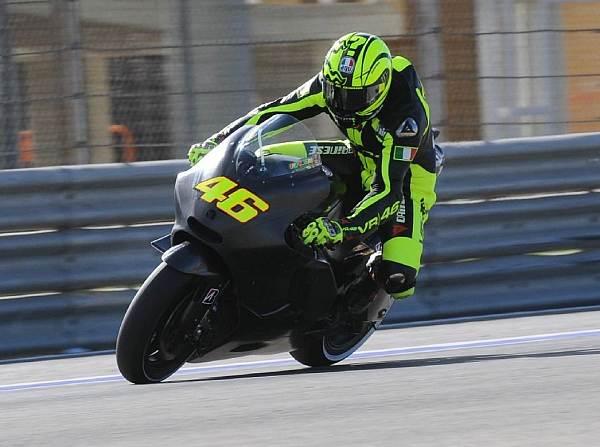 © FWeisse - Valentino Rossi fährt erstmals seit 1999 (Aprilia) auf einem italienischen Motorrad
