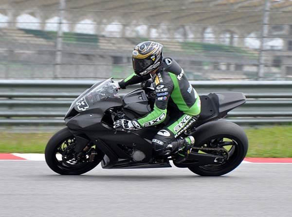 © Kawasaki - Chris Vermeulen hat in Rechtskurven noch Probleme mit seinem operierten Knie