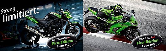 Kawasaki First Edition Sondermodelle