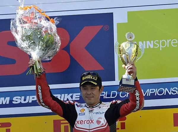 © Ducati - Noriyuki Haga will auch in diesem Jahr als Sieger auf dem Podest stehen