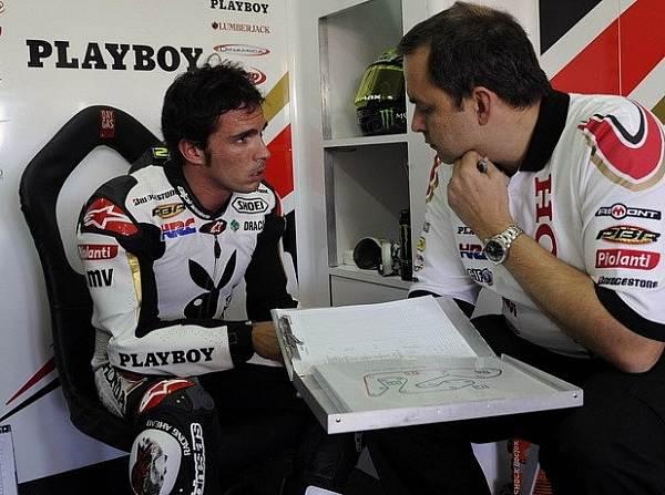 © LCR - Toni Elias fuhr beim MotoGP-Test in Valencia noch hinterher