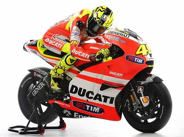 © Ducati - Valentino Rossi wird Anfang Februar erstmals mit der Ducati GP11 fahren
