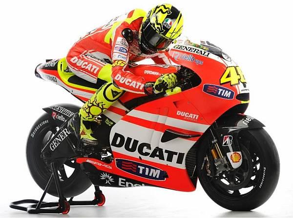 © Ducati - Wie schnell wird sich Rossi auf der Ducati Desmosedici GP 11 wohlfühlen?