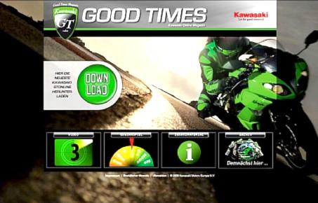 Kawasaki Online Magazin