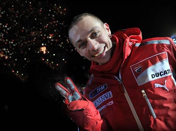 © Ducati - Alles Gute zum Geburtstag: Valentino Rossi wird heute 32 Jahre alt