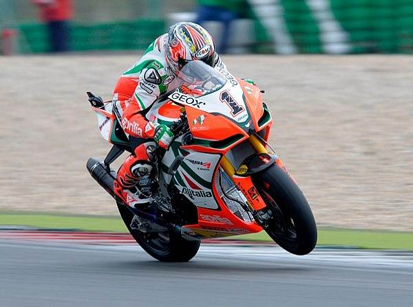 © Aprilia - Treibt der RSV4-Motor von Aprilia bald auch MotoGP-Motorräder an?