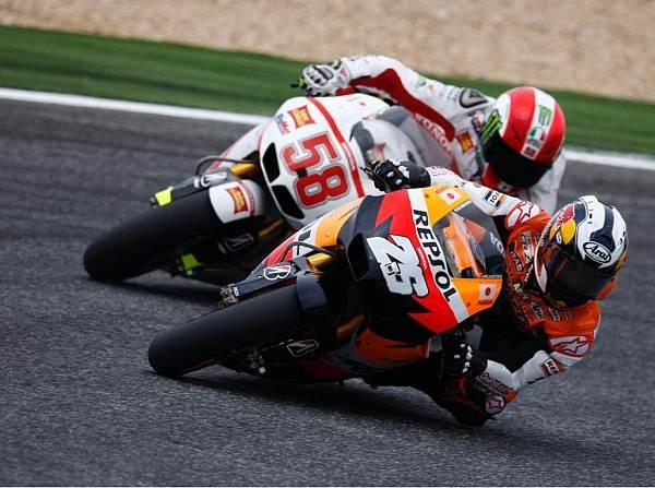 © Honda - Für Dani Pedrosa (26) ging die Kollision deutlich schlechter aus