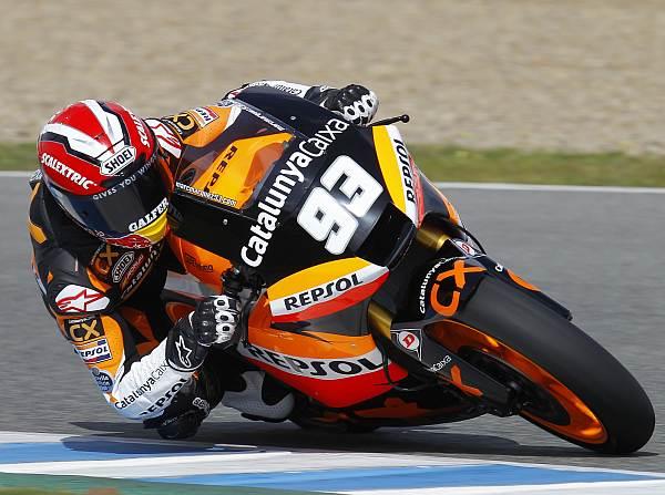 © Repsol - Marc Marquez und sein Bike waren auch beim Test in Estoril eine Klasse für sich