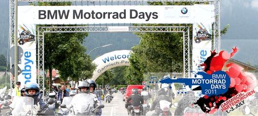 BMW Motorrad Days vom 1. bis 3. Juli 2011