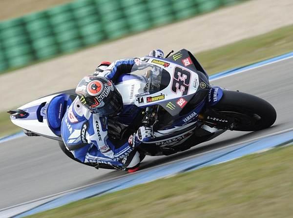 © Yamaha - Marco Melandri holte sich in Alcaniz die provisorische Pole-Position