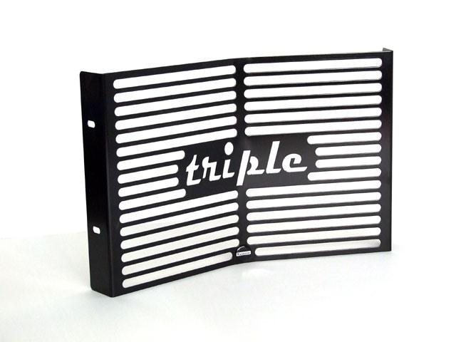 Metisse Kühlergrills für Triumph Street Triple_scwarz