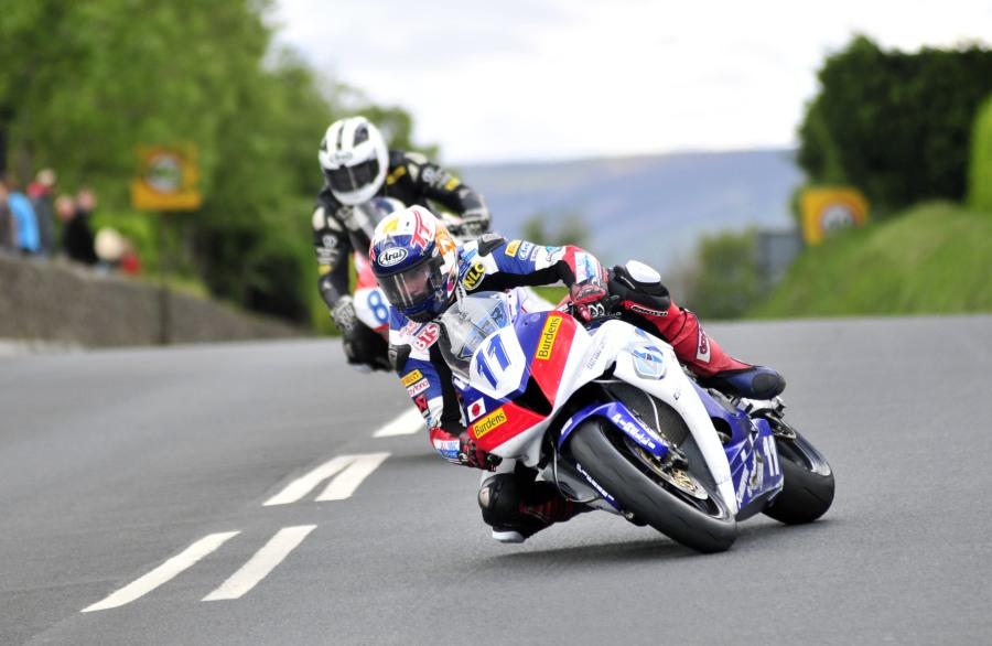 Gary Johnson - TT-Supersport Race 2