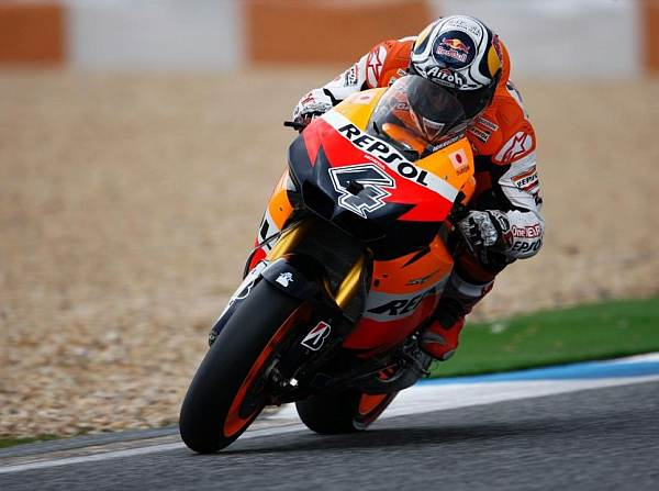 © Honda - Andrea Dovizioso hatte sich vor heimischem Publikum an die Spitze gesetzt