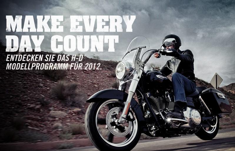 Harley Davidson Modelljahr 2012