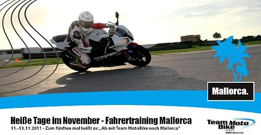 Mallorca Fahrertraining vom 11.-13.11.2011