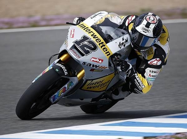 © Honda - Der Schweizer Tom Lüthi ist im zweiten Training die schnellste Runde gefahren