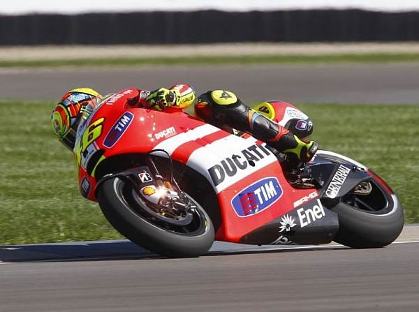 © IMS - Valentino Rossi ist mit den Reifenmischungen nicht zufrieden