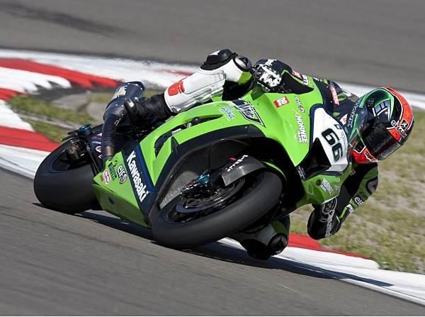 © Kawasaki - Kawasaki-Pilot Tom Sykes fuhr im zweiten Imola-Qualifying Bestzeit