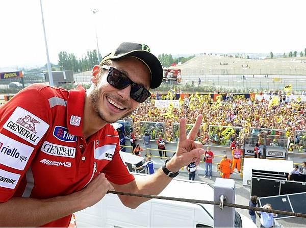 © Ducati - Valentino Rossi ist bei den MotoGP-Fans nach wie vor äußerst beliebt