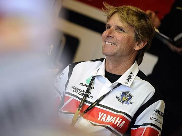 © Yamaha - Wayne Rainey ist erstmals seit 1993 wieder nach Misano gereist