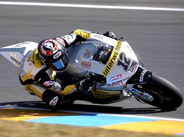 © Motorsport-Total.com - Der Schweizer Tom Lüthi ist die schnellste Moto2-Runde in Motegi gefahren