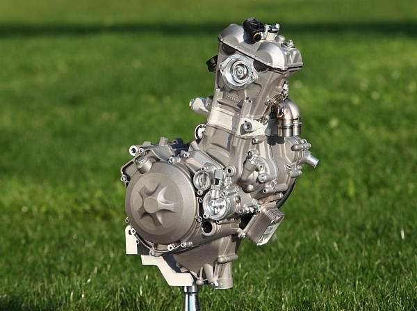 © KTM - Der Moto3-Motor von KTM: Ein Zylinder und 250 Kubikzentimeter Hubraum