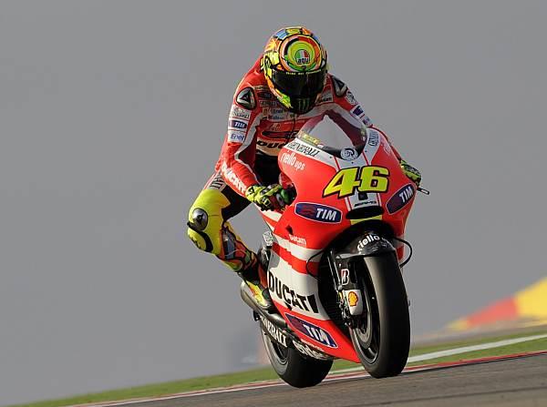 © Ducati - Valentino Rossi kann weiterhin nicht schnell mit seiner Ducati fahren