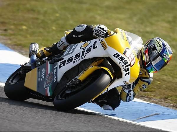 © Honda - Alex de Angelis verdrängte Andrea Iannone im zweiten Training von Platz eins