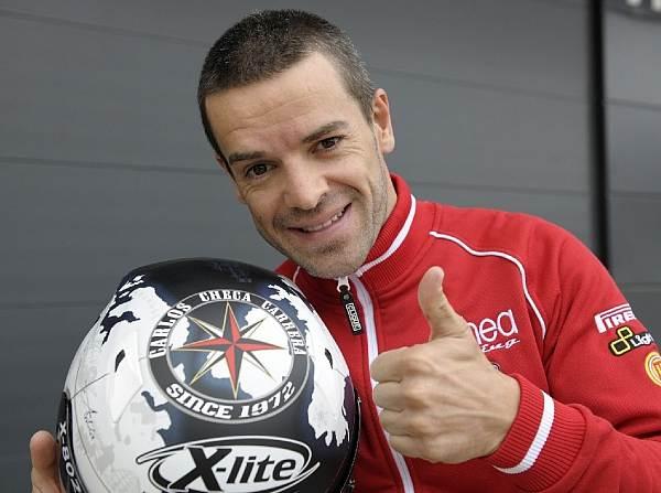 © Infront - Carlos Checa testet in Jerez die MotoGP-Ducati