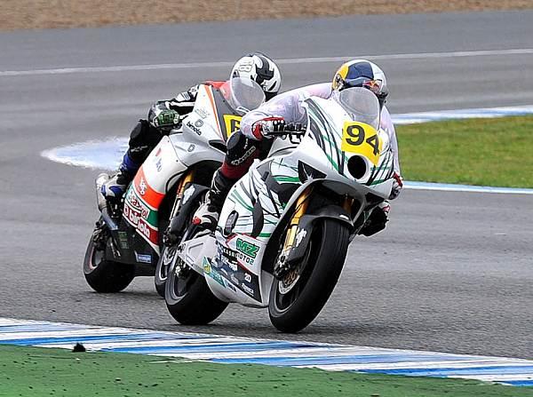 © FWeisse - In der Spanischen Meisterschaft startete Jonas Folger auf einer Moto2-MZ