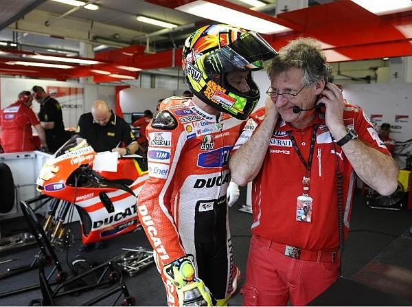 Valentino Rossi und Jeremy Burgess