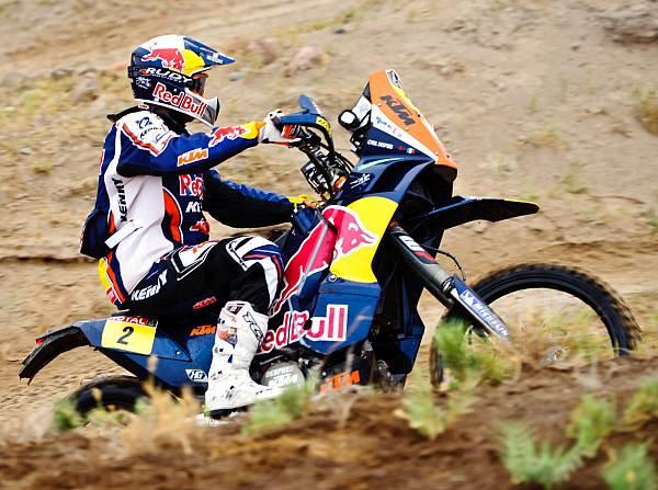© Red Bull/GEPA - Cyril Despres steht nach 2005, 2007 und 2010 vor seinem vierten Dakar-Sieg