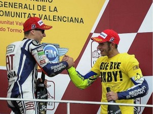 © Yamaha - Joreg Lorenzo - Valentino Rossi