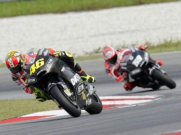 © Ducati - Valentino Rossi und Nicky Hayden