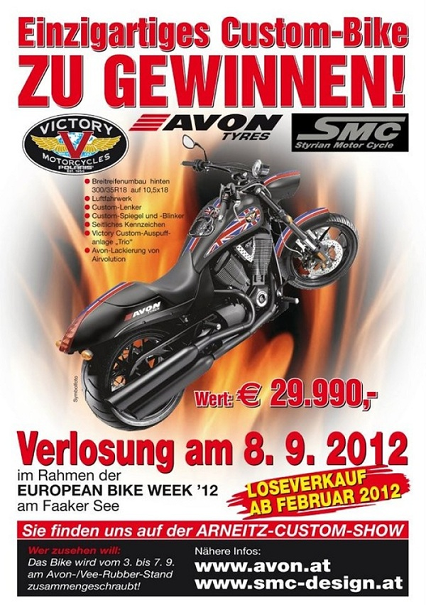 Victory Motorcycle Verlosung am Faaker See