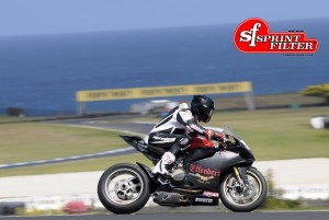 Ducati Panigale mit  Brett Mc Cormick