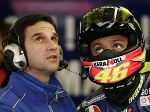 Davide Brivio und Valentino Rossi  © Motorsport-Total.com