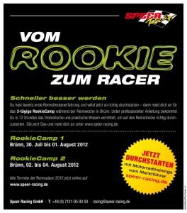 Vom Rookie zum Racer mit Speer Racing