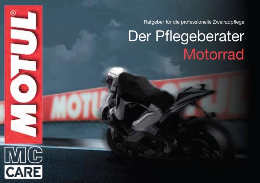 MOTUL Pflegeberater Motorradfahrer