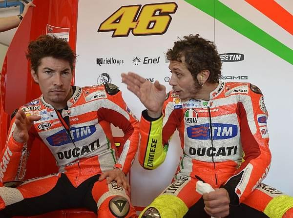 Valentino Rossi Nicky Hayden © Ducati