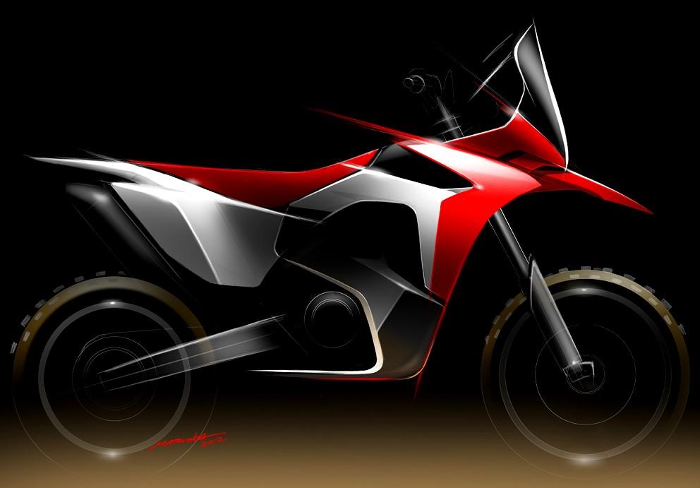 Honda CRF450X Dakar Prototyp
