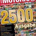 2500 mal MOTORRAD